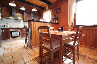 2 bedroom timber chalet above Los Monteros and convenient for Marbella Centre