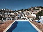 Immaculate, hardly used recently partly reformed townhouse in this picturesque development  above Puerto Banus and San Pedro
