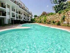 Bright topfloor apartment in a good position in Mijas Golf