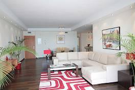 Large corner apartment on the front line Puerto Banus