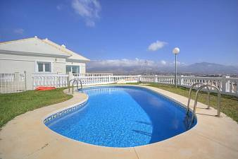 Detached Villa in a small gated community with stunning Coastal and mountain views