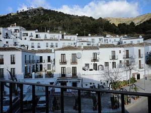 Selection of 3 bedroom 2 bathroom apartments  in the town of Mijas Pueblo, close to the entrance