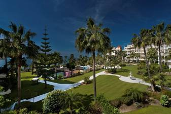 Exceptional front line beach apartment in  most exclusive development of the Costa del Sol