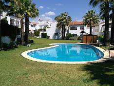 Refurbished 3 bedroom townhouse situated in a mature gated community with communal gardens and swimming pool, Bel Air, Estepona