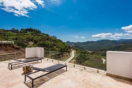 A newly built villa in the prestigious La Zagaleta residential enclave in the Hills above Marbella, Benahavis