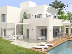 Contemporary villa being built on the beachside at San Pedro Marbella just 400 meters from the beach