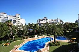 Spacious 2 bedroom apartment in popular Playas del Duque in the heart of Puerto Banus, Marbella