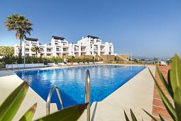 A choice of 1, 2 bedroom apartments on the beach at Casares del Mar between Estepona and Sotogrande