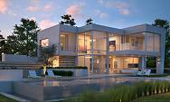 Opportunity to buy a brand new contemporary styled  Architect designed detached villa in a famous Marbella location on Marbella Golf and Santa Clara