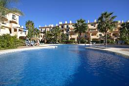 Stunning 3 bedroom ground floor garden apartment situated within a short walk to marina at Puerto de la Duquesa, Manilva