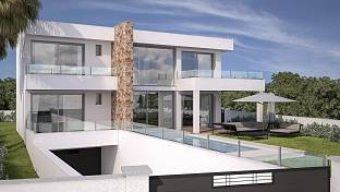 Brand new turnkey villa which is in the process of constructions wonderful location, La Cala de Mijas