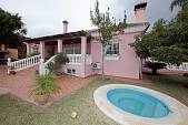 Detached villa standing in a large south west facing corner plot El Rosario, Marbella