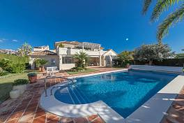 Luxury detached villa in one of Marbella's most celebrated locations within easy reach of local amenities including the local shops and restaurants