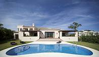 Spectacular modern home in the Golf Valley within easy distance by car to Puerto Banus, beaches and centre of Marbella, Nueva Andalucia, Marbella