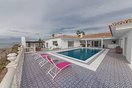 Absolutely stunning beachfront villa completely refurbished to the highest standards, El Chaparral, Mijas Costa