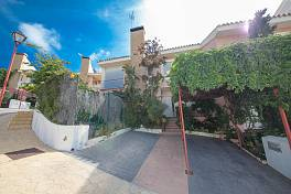 Spacious family semi detached townhouse in a cul-de-sac location about 10 minutes drive from the centre of Estepona Forest Hills, Estepona