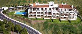 NEW RELEASE. Apartments of 2 and 3 bedrooms in a gated community in the best residential area of Marbella, La Mairena