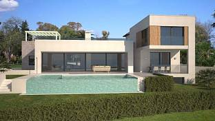 Amazing Villa in community of 14 five-bedroom villas that makes up Mirabella Hills is located in La Alqueria one of the most coming parts of Marbella