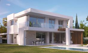 Opportunity to purchase a brand new villa in a secure gated community on one of Marbella prestigious golf courses, Marbella Golf