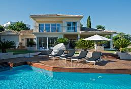 Stunning prestige villa occupies an enviable location on the front line of the renowned and beautiful Los Naranjos Golf Course, Marbella